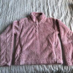 F21 Pink Sherpa Jacket